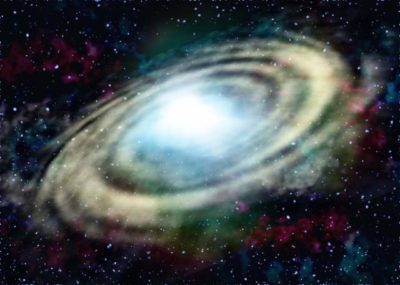 星雲 らせん構造