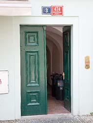 マンションドア